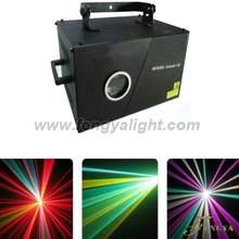 2W full color RGB animation laser show stage lighting