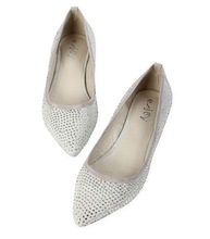 New design classcial lady crystal flat shoes