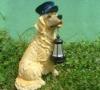 dog shape solar led garden light