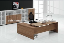 2012 Fashion top design wooden office manager table furniture manufacturer