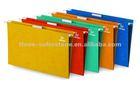 Paper Suspension File Folders, Foolscap size, 25/box, Assorted colors