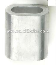DIN3093 Self Color Aluminum Ferrule Aluminium Sleeve Oval Type