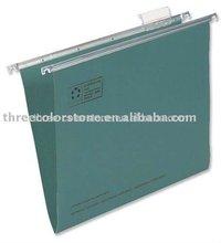 Manufacturer of paper suspension file folder, 20/pack, Green