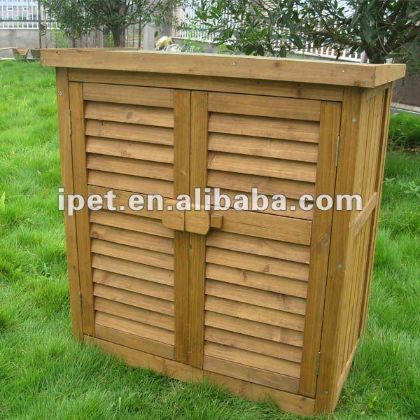 mobili contenitori da giardino in legno ~ decora la tua vita