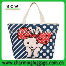 Cotton tote shouler bag promotion