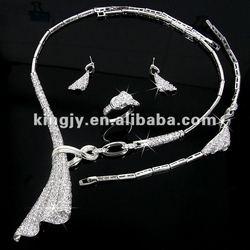 2014 Fashionable American Designer Diamond Necklace Set