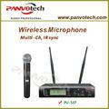 Panvotech pu-537 microfone sem fio transmissor e receptor