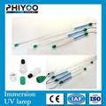 80 W de aquecimento de quartzo de ozônio grátis subaquática UV esterilização lâmpadas