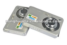 2012 hot sale mini digital camera ,2.7''TFT LCD,5.2MP CMOS Sensor