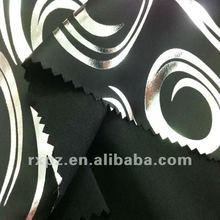 100*150+40 Sunshine Heavy Dull Satin Foil Fabric Keqiao Shaoxing peacock satin print fabric