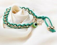 Elegant novelty turquoise inspired briolette bracelet, fashion murano monogram bracelet manufacturer bubble bracelet