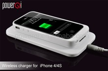 For iPhone powerqi wireless chargers qi, wireless induction charging battery