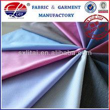 2012 new design spun polyester check fabric
