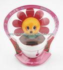 Aliexpress sloar flip flop flower,solar power dancing flowers,solar flower for gifts