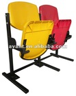 Shine-I gravity folding chiar plastic seating gym seating sports games seating public seat audience chair
