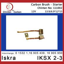 Iskra IKSX 2-3 Starter Carbon Brush(brush size 13.9/6.9x12x15)
