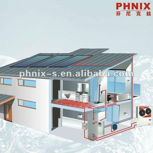 Solar sistema de calefacci n central para el agua caliente - Sistema de calefaccion central ...
