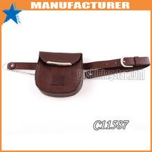 Ladies popular waist belt with money bag