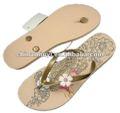 2014 nueva dama de la moda flip flop sandalia