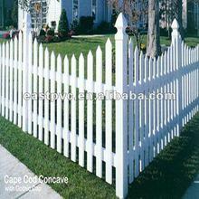 Cheap Vinyl Fence Plastic Garden Fence Panels