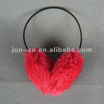 imitation fur winter earmuff for promotional