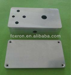 CNC machined portable aluminium box