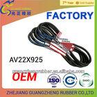 AV22X925li/C36 gonil/bando/gates/ dayco/mitsubishi/camel rubber automotive v belt for HON-DA/TOYOTA/BENZ/VW/VOLVO