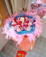 2012 new style artificial wedding bouquet flower