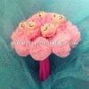 beautiful plush flower bouquet