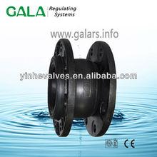 single-sphere flexible rubber joint