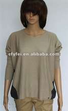 2013 New Ladies knitting kaftan /sweater top