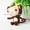 beautiful girl mobile pendant,cute girl monkey keychain
