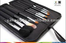 zipper bag nylon hair make-up brush,hair brush (fty)