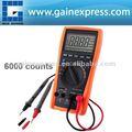 Multimètre numérique thermomètre testeur de capacité de résistance AC DC Ohm Hz