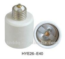 plastic convert E26-E40 lamp holder