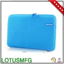 "13"" Laptop Sleeve With Plug in Zipper Customized Neoprene Laptop Case Wholesale"