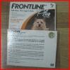 NEW Frontline Plus 0.67ml 0-10kgs Dog Flea Tick Remedies