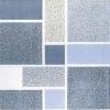 Cheap ceramic floor tile / Blue bathroom floor tile