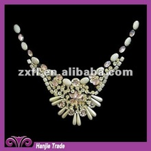 2012 Fashionable Exquisite Design of Clothing Handmade Colorful Beaded Neck Collar (#4-1427)