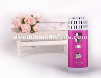 kids lovely mini i karaoke player machine for karaoke singing