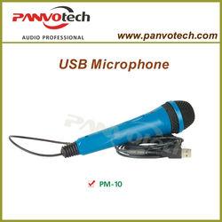 Panvotech PM-10 microphone usb / microphone usb flash drive