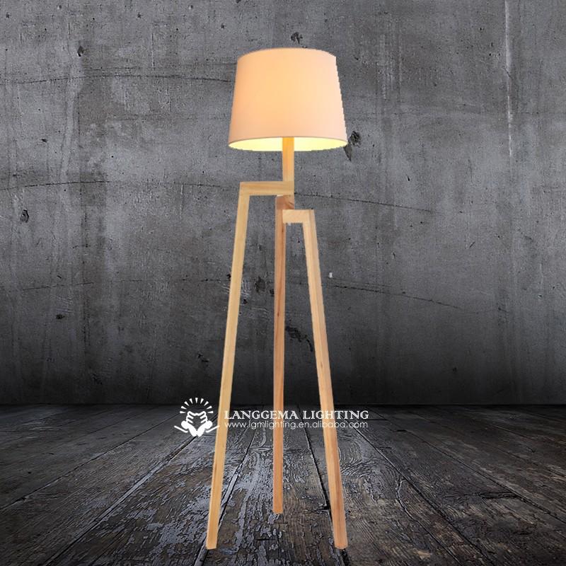 Modern Wooden Floor Lamp F 6052 View Floor Standing Lamps