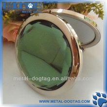 Murano Art Deco New Trendy Ladies Mini Round Metal Cosmetic Mirror For Gift