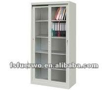 Foshan steel wall cabinet with two sliding door