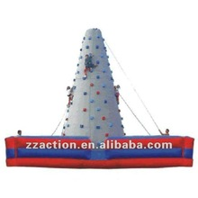 2013 hot selling funny inflatable sports climbing wall