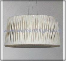 UL List Pleated Fabric Shade Room Lamp Hotel Hanging Pendant Light (C30006)