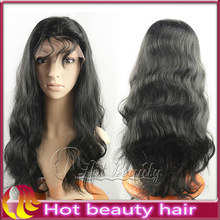 Hot Beauty Natural Looking Silk Top Full Lace Wig With Baby Hair