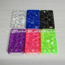 for iphone 5G case, hard case with diamond design