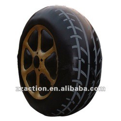 2014 hot selling inflatable advertising model tire