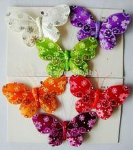 Feather Butterfly/Artcrafts manufacturer/Feather birds